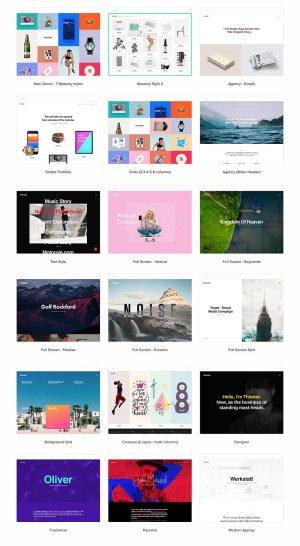 Werkstatt Best WordPress Portfolio Themes
