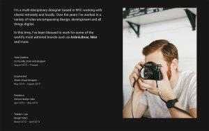 Ballard Architecture Resume WordPress Theme
