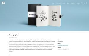Dendrite Architecture Resume WordPress Theme