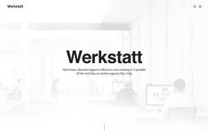 Werkstatt Architecture Resume WordPress Theme