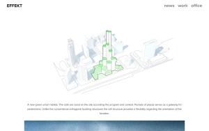 Effekt - Best Architecture Websites 2018