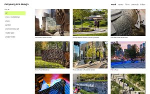 mikyoung kim design - Best Architecture Websites 2018