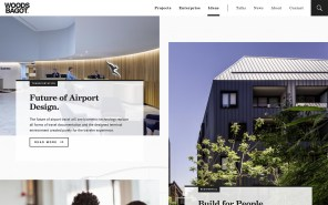 Woods Bagot - Best Architecture Websites 2018