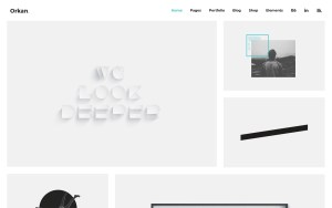 Orkan Best Portfolio Wordpress Themes