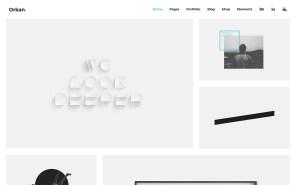 Orkan Best Portfolio Wordpress Themes