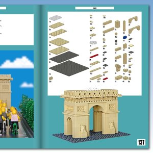 Brick City - Global Icons to Make from LEGO byWarren Elsmore - Lego Architecture