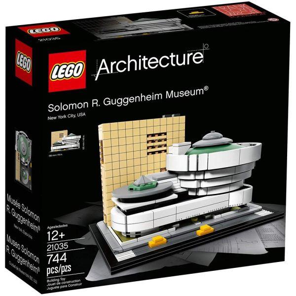 LEGO Architecture – Solomon R. Guggenheim Museum