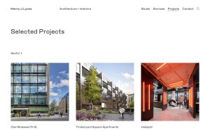 Henry J Lyons - Best Architecture Website of 2019
