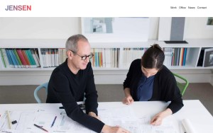 Jensen Architects - Best Architecture Website of 2019
