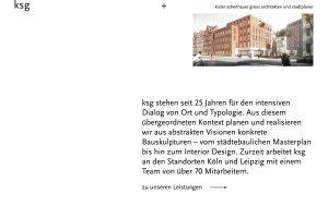 Kister Scheithauer Gross - Best Architecture Website of 2019