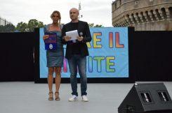 Rudy Zerbi e Annalisa Minetti
