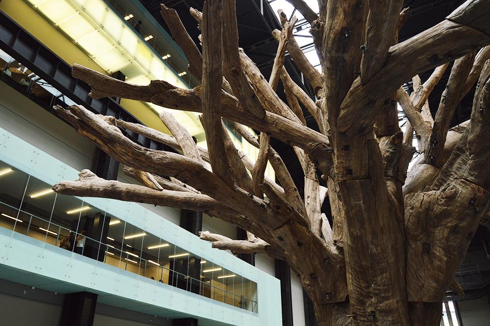 Ai Weiwei: Tree at TATE Modern