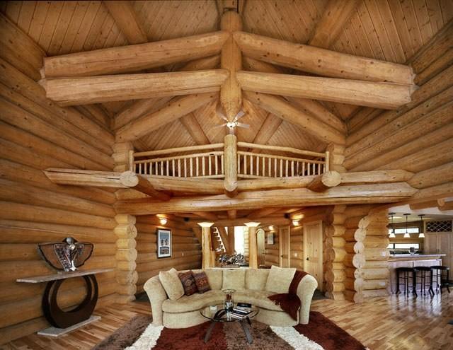 Канадский деревянный дом ручной рубки - классический ...