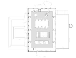 Grundriss Workshop Küchenbereich