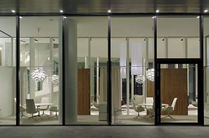 BHF BANK Zentrale D-Frankfurt, Architekt: Wittfoht Architekten D-Stuttgart Foto © Nina Baisch