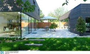 Wohnbereich nach außen erweitert Bild: BR/Edith Buchner