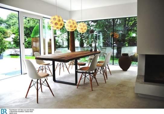 magazin traumh user ein haus aus zwei bauten archimag. Black Bedroom Furniture Sets. Home Design Ideas