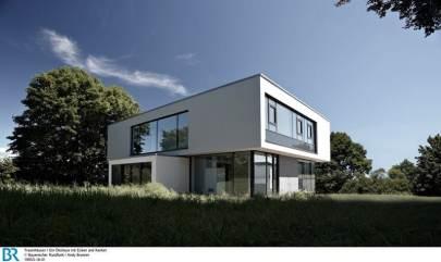 Bauen für die Umwelt - Wohnen mit der Natur.