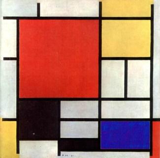 Piet Mondrian - Dettaglio
