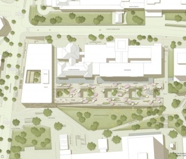 53208fa5c07a802c270004eb_gmp-wins-first-prize-to-design-swiss-children-s-hospital_2946_140207_lageplan-530x454