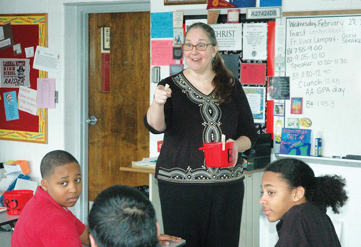 From The Heart Award Winning Teacher Sets The God