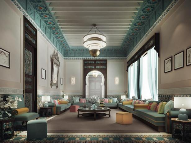 Thriving Legacy Through Luxurious Moroccan Majlis Interior Design