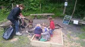 childrens excavation