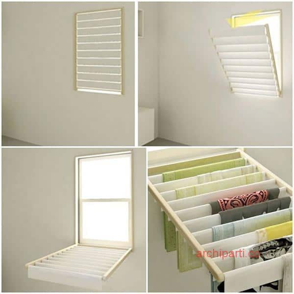 Small apartment interior design hong kong window blinds and rack