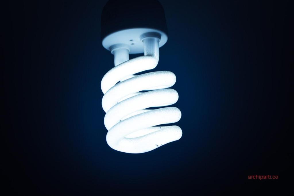 Office interior design LED bulb