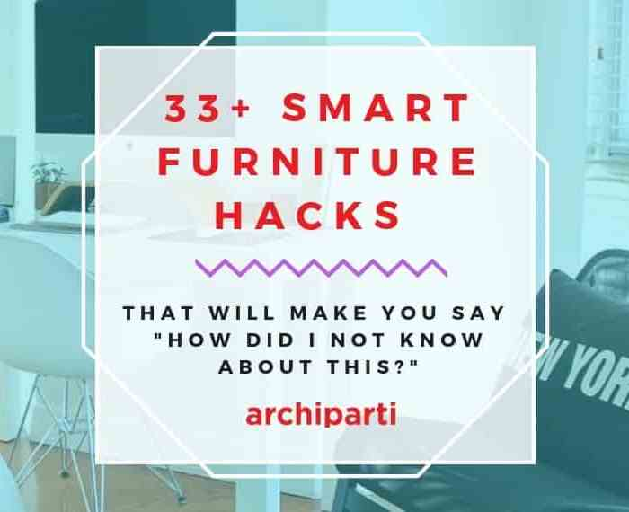 10 Smart Furniture Ideas For Your Tiny Apartment in 2021