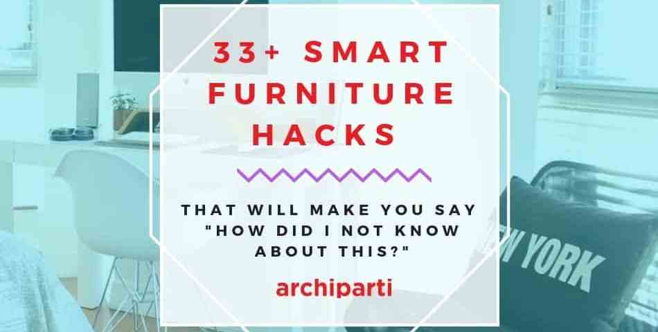 33+ Smart furniture design ideas for your tiny apartments