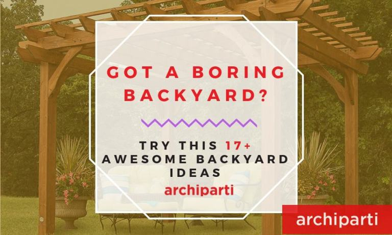Got a boring backyard? Try this 17+ Awesome Backyard Ideas in 2020