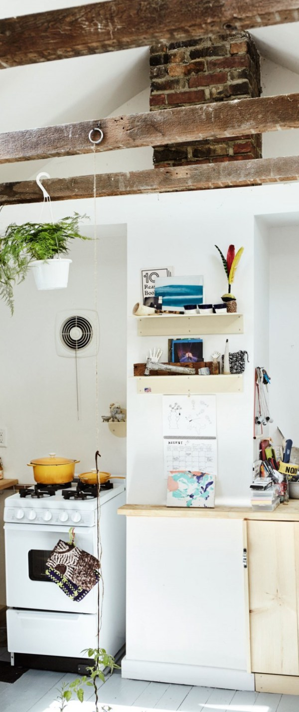 This image may contain Furniture Shelf Indoors Room and Interior Design
