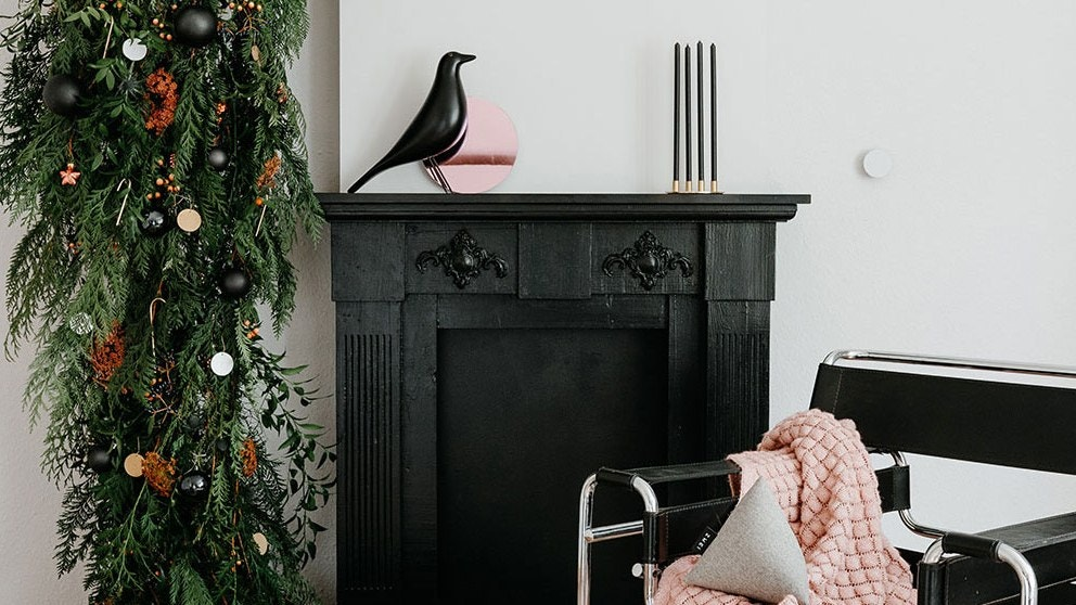 Let's Fit a Christmas Tree Into Your Small Living Room This Year