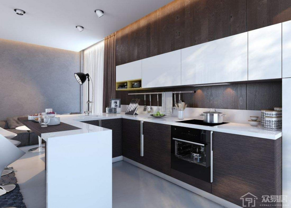 【蝸居細廚房裝修設計2021】小戶型風格/省錢/收納攻略