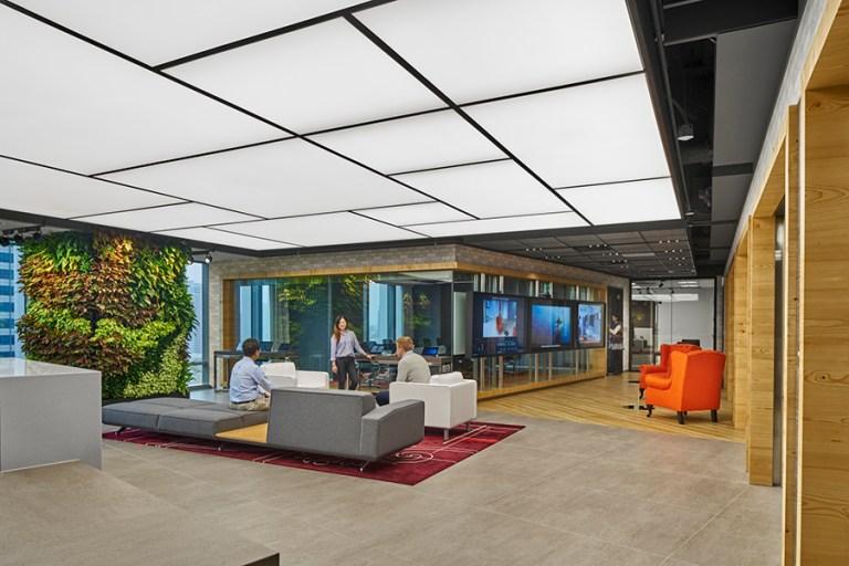技術與創新人性化的辦公室設計裝修案例:微軟台北辦公室2020