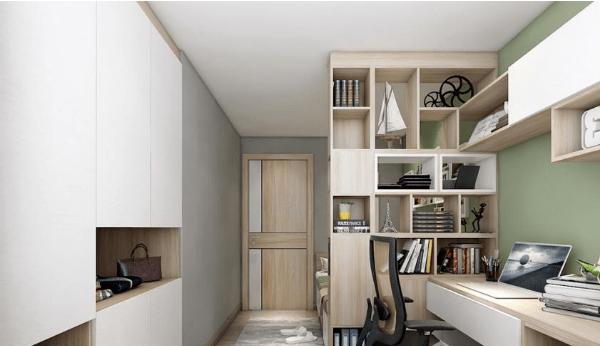4款實用書桌書櫃裝修風格案例【小戶型細書房設計2020】
