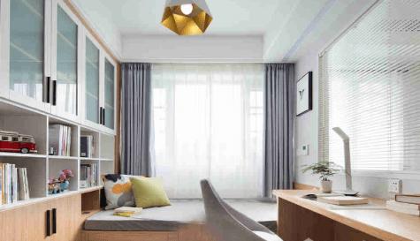 窗簾天花設計很重要!【現代簡約風200呎開放式蝸居小單位規劃2020】