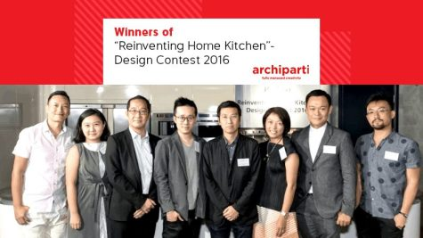 """Winners of """"Reinventing Home Kitchen""""- Design Contest 2016"""