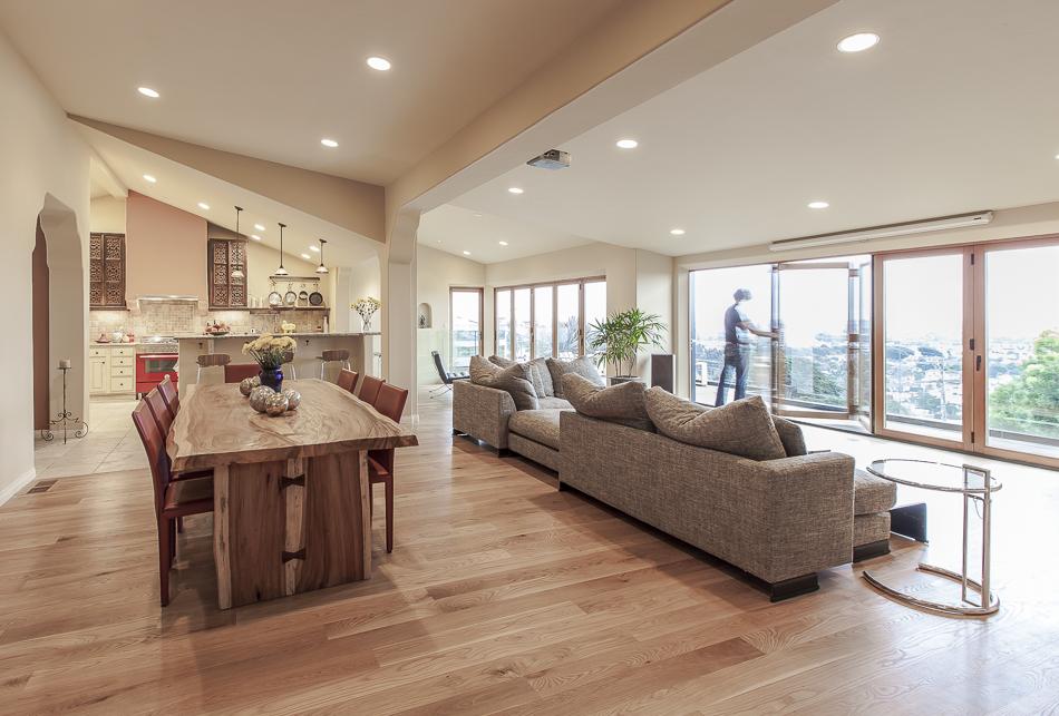 Ventura hillside house cj paone aia ventura ca architect for Cj garden designs