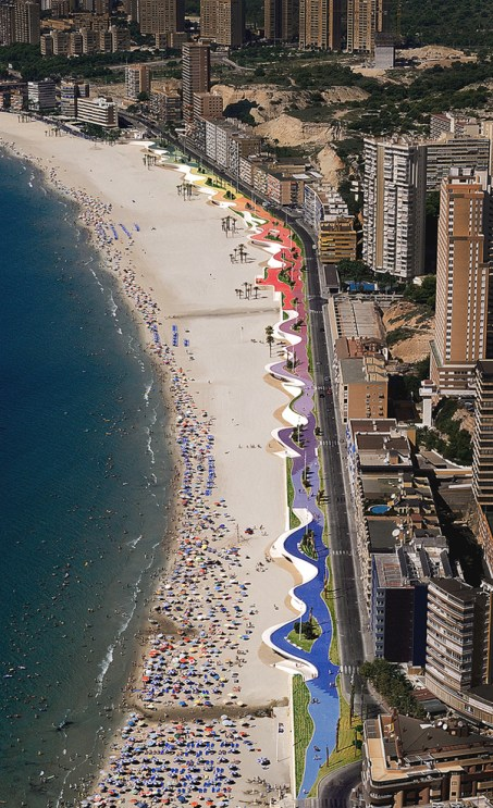 benidorm west beach promenade3