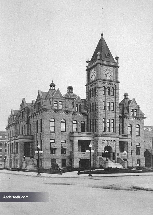 1911 – City Hall, Calgary, Alberta – Archiseek – Irish