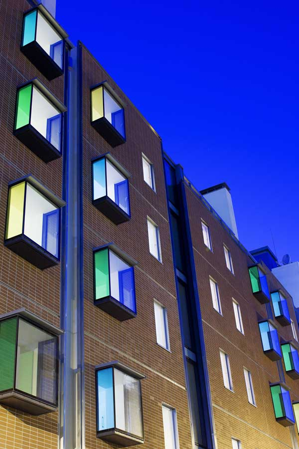 Sean Harrington Architects-York street housing dusk