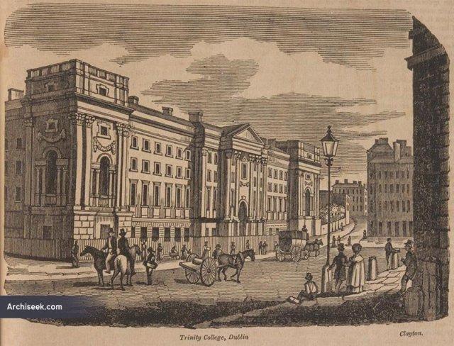 1759 – West Front, Trinity College Dublin – Archiseek – Irish Architecture