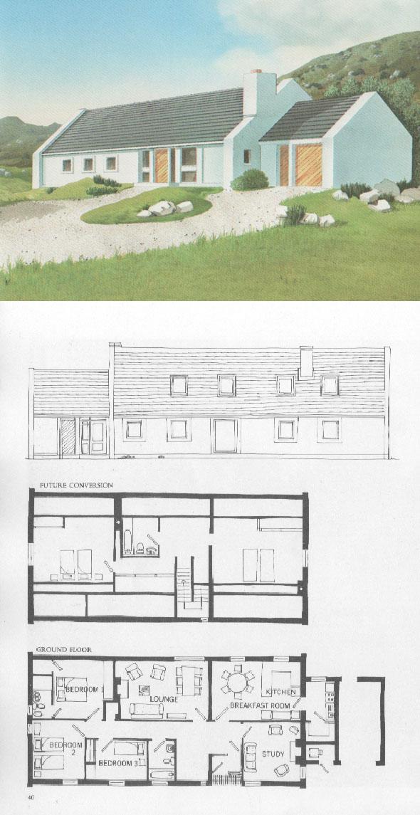 1980 the roadstone book of house designs 9 unbuilt ireland