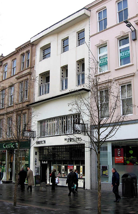 1903 willow tea rooms sauchiehall street glasgow for Designer room glasgow