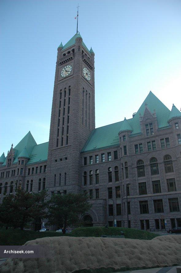 1909 Minneapolis City Hall Minnesota Archiseek