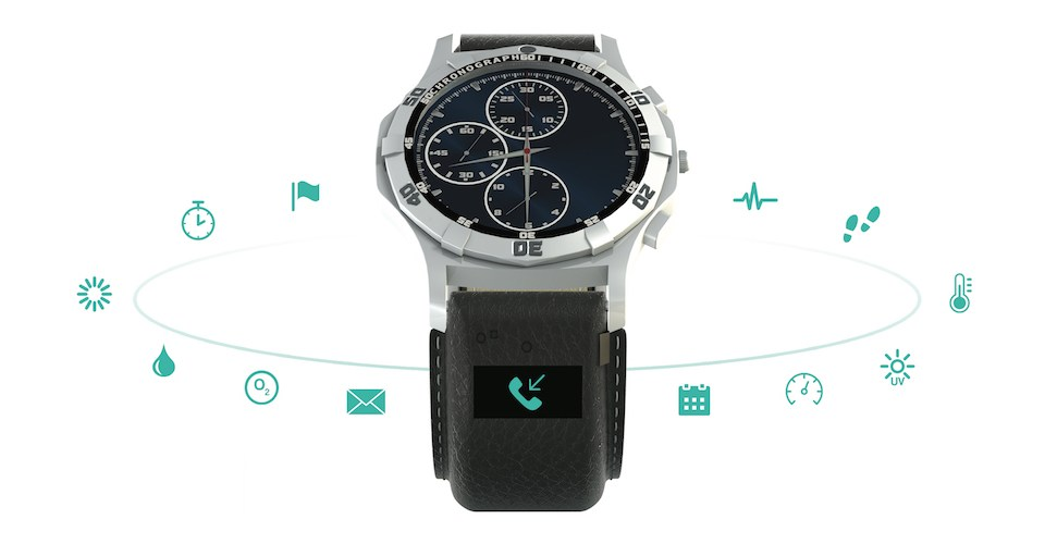 CT Band packs a full smartwatch into the band for any wristwatch.