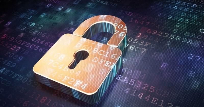 Candado seguridad con datos