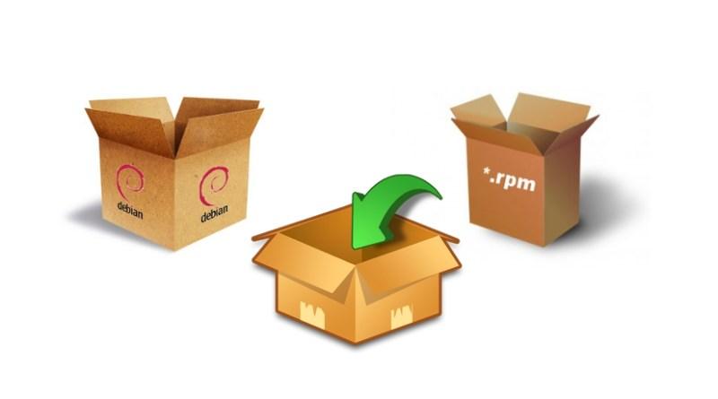 Paquetes RPM, DEB, etc. en Linux